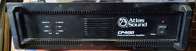 Atlas Sound CP400 Power Dual Channel  400 Watt Commercial Power Amplifier