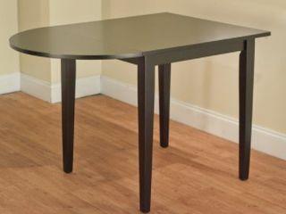 Simple living Black Tiffany Drop leaf Table
