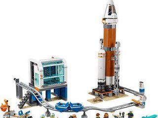 lego City Deep Space Rocket  amp  launch Control