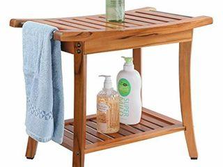 Utoplike Teak Shower Seat Bench