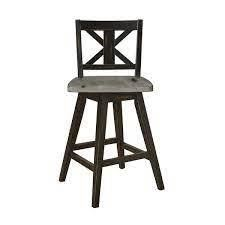 Roux Swivel Counter Height Barstools SET OF 2