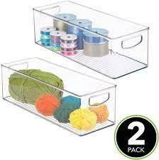 M Design Plastic Organizational Baskets 4 PACK
