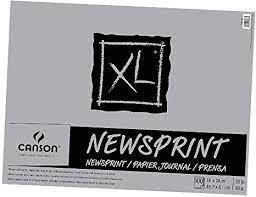 Recycled Newsprint Pad