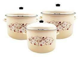 Uniware High Quality Premium Enamel Cookware Set