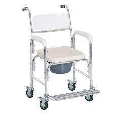 Personal Mobility Commode Medical Rolling Chair