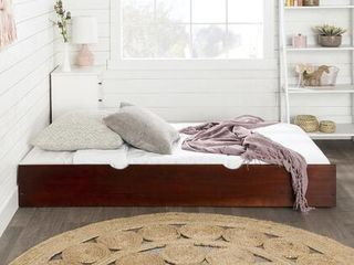 Solid Wood Trundle Bed