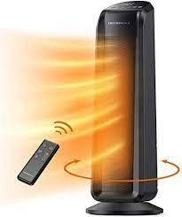 Electric Space Heater 1500W Fast Quiet Heating Ceramic Tower