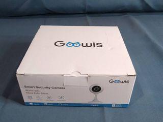 Goowls Smart Security Camera