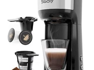 Sboly Brew Two Ways Single Serve Coffee Marker