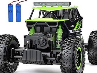 RC Car  NQD Remote Control Monster Truck  2 4Ghz 4WD Off Road Rock Crawler Vehicle  1 16 All Terrain Rechargeable Electric Toy for Boys   Girls Gifts