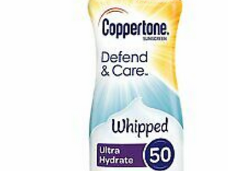 Coppertone Whipped Sunscreen SPF 50