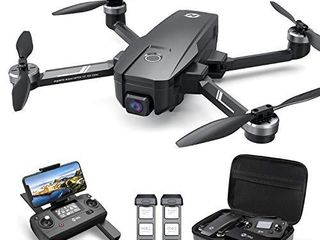 Holy Stone HS720E 4K EIS Drone with UHD Camera for Adults  Easy GPS Quadcopter for Beginner with 46mins Flight Time  Brushless Motor  5GHz FPV Transmission  Auto Return Home  Follow Me  Anti shake Cam
