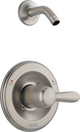 Delta Faucet T14238 SSlHD  2 00 x 2 00 x 4 00 inches  Stainless