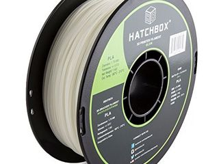 HATCHBOX PlA 3D Printer Filament  Dimensional Accuracy   0 03 mm  1 kg Spool  1 75 mm  Glow in The Dark