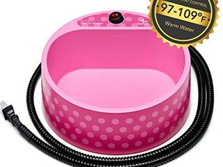 Heated Pet Bowl  Petfactors 2 2l Pet Thermal Water Bowl  Dog Cat Heated Water Bowl with long Chew Resistant Cord and Waterproof ON OFF Switch  Camouflage