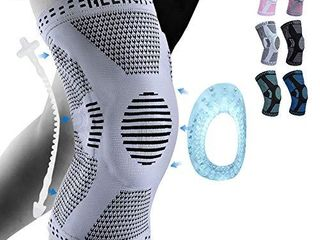 NEENCA Professional Knee Brace Knee Compression Sleeve Support for Men Women with Patella Gel Pads   Side Stabilizers Medical Grade Knee Pads for Running Meniscus Tear ACl Arthritis Joint Pain Relief