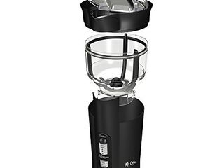 Mr  Coffee 12 Cup Electric Coffee Grinder with Multi Settings  Black  3 Speed   IDS77