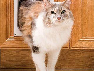 PetSafe Interior 2 Way locking Cat Door   Indoor Pet Flap   Hides litterbox or Food   DIY Installation