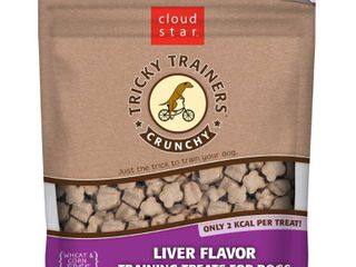 Cloud Star Crunchy Tricky Trainers  liver  8 Ounce  Pack of 4