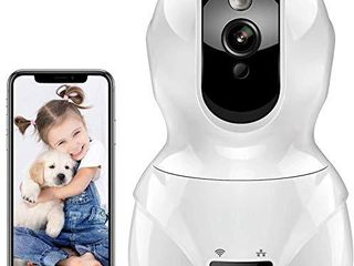 Tovendor 1080P Security Home Camera  WiFi Camera Indoor Surveillance System  IP Camera Baby Monitor with Motion Detection Tracking Night Vision