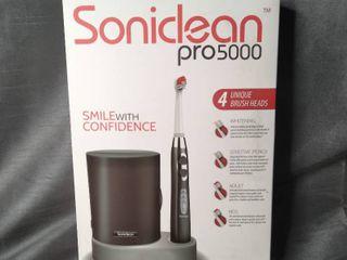 Brush Buddies Soniclean Pro 5000 Powered Toothbrush