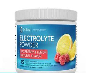 Dr  Berg s Original Electrolyte Powder  High Energy  Replenish   Rejuvenate Your
