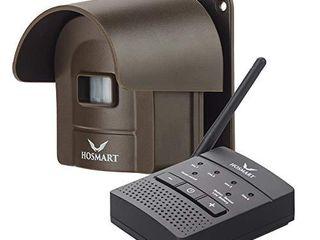 1 2 Mile Hosmart Rechargable Driveway Alarm Wireless Sensor System   Driveway Sensor Alert System Weatherproof Security Outdoor Motion Sensor   Detector