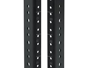 Gator Rackworks Heavy Duty Steel Rack Rail Set  4U Rack Size  GRW RACKRAIl 04U