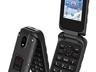 Plum Ram 8   4G Rugged Flip Phone Unlocked Water Shock Proof Att Tmobile Metro Cricket Straight Talk Consumer Cellular