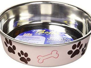 loving Pets Bella Bowl for Dogs  Medium  Paparazzi Pink