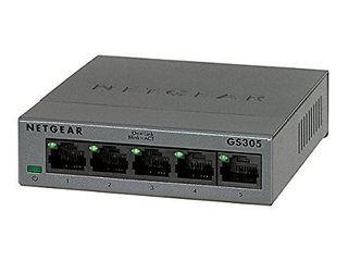 NETGEAR 5 Port Gigabit Ethernet Unmanaged Switch  Desktop  10 100 1000Mbps  GS205   Renewed