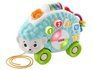 Thomas   Friends Fisher Price linkimals Happy Shapes Hedgehog   Interactive Educational Toy with Music and lights for Baby Ages 9 Months   Up  Multi Color