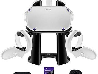 SARlAR VR Stand  Display Holder for Oculus Quest 2  Quest  Rift S  Valve Index Headset and Touch Controllers Accessories