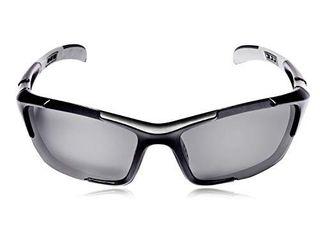 Hulislem S1 Sport Polarized Sunglasses For Men Women Mens Womens Running Golf Sports  Matte Black Smoke