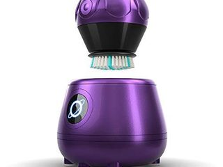 TAO Clean Orbital Facial Brush and Cleansing Station Amethyst  limited Edition  Electric Face Cleansing Brush with Patented Docking Technology  Ergonomic Handle  Dual Speed Settings