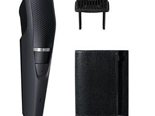 Philips Norelco Beard   Stubble Trimmer Series 3000  BT320 4  Black