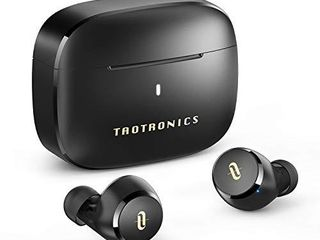 Wireless Earbuds  TaoTronics Bluetooth 5 0 Headphones Soundliberty 97 True Wireless Earphones in Ear with mic CVC 8 0 Noise Cancelling AptX Stereo Bass Touch Control IPX8 Waterproof 9H Playtime