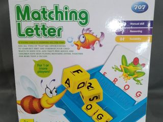 707 Games Matching letter