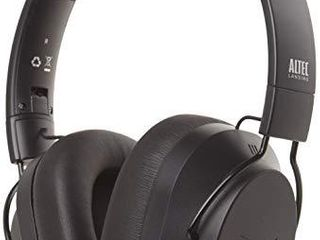 Altec lansing Whisper Active Noise Cancelling Headphones  Black  MZX1003 BlK