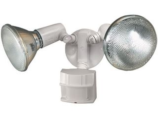 Heath Zenith HZ 5411 WH Heavy Duty Motion Sensor Security light  White