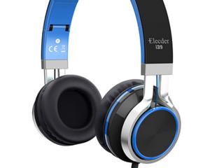 ElECDER I39 HEADPHONES BlUE AND BlACK