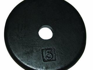 CanDo 10 0602 Iron Disc Weight Plate  5 lb