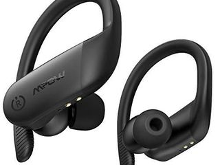 Wireless Earbuds Sport  Mpow Flame lite in Ear Bluetooth Earbuds  Bass  IPX7 Wireless Earphones Bluetooth Headphones  BT5 0 Touch Control Mono Twin Mode 30H Playtime USB C Charging Built in Mics Black