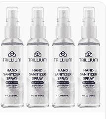 TRIllIUM Hand Sanitizer  set of 8