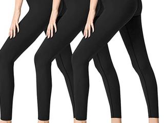 One Size 3 Sets Of Black leggings