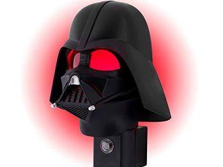 Star Wars Vader lED Night light  Collector s Edition  Plug in  Dusk to Dawn Sensor  Disney  Red Glow  Ideal for Bedroom  Bathroom  Nursery  44607  Mini Darth Vadar