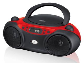 GPX CD  AM FM Boombox   Red  BC232R