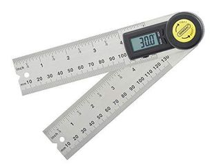 General Tools 822 Digital Angle Finder Rule  5 Inch