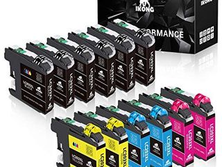 IKONG Compatible Ink Cartridges Replacement for Brother lC203 lC203Xl lC201 lC201Xl Works with Brother MFC J460DW J480DW J485DW J680DW J880DW J885DW MFC J4320DW J4420DW J4620DW J5620DW  12 Pack