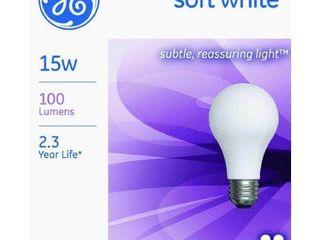 GE lighting 97491 15 Watt A15 Soft White light Bulb  12 Pack